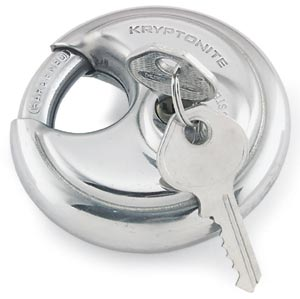 Disc lock for storage