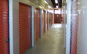 Air conditioned storage unit sizes