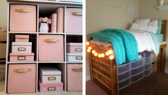Back To School: 6 Most Needed Storage Items For Your Dorm