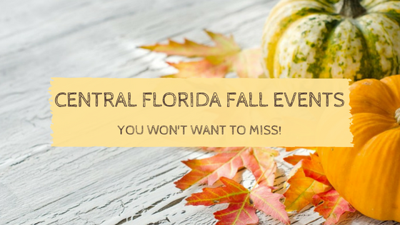 5 Central Florida Fall Events You Won't Want To Miss