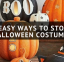 5 Easy Ways To Store Your Halloween Costumes