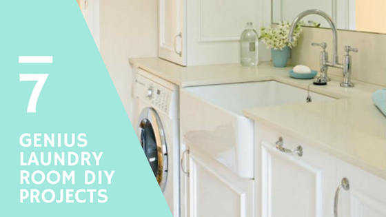 7 Genius DIY Laundry Room Projects To Create More Space
