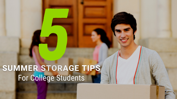 Learn 5 Easy Summer Storage Tips to Help College Students