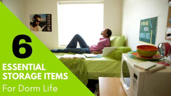 These essential storage items will help your college student stay organized this semester.
