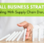 These 3 strategies can help your small business deal with supply chain disruptions.